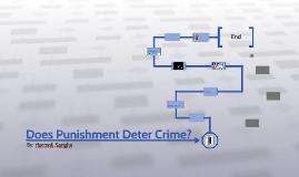 does punishment deter crime