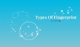 Types Of Finger