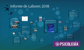 Informe de Labores 2018