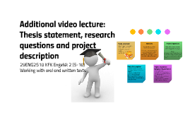 Video lecture 2.2: