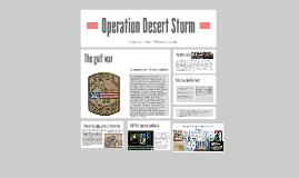 Copy of Operation Desert Storm