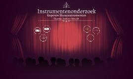 Instrumentenonderzoek