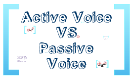 Copy of Active vs. Passive Voice