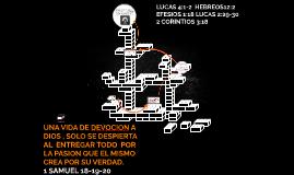 Copy of UNA VIDA DE DEVOCION A DIOS , SOLO SE DESPIERTA AL  ENTREGAR