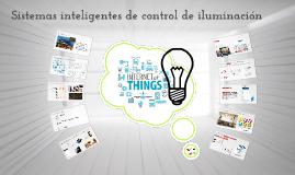 Sistemas inteligentes de control de iluminación