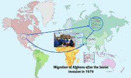 Waves of Migration: Afghan migration 1979