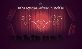 Baba Nyonya in Melaka