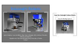 Copy of DeLonghi Deluxe Espresso Maker