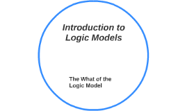Introduction to Logic Models