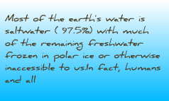 Water droughts