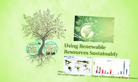 Using Renewable urces Sustainably