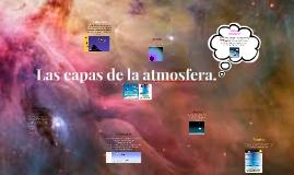 Copy of Copy of Las capas de la atmosfera.