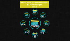 Famous Places From the Renaissance