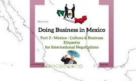 Doing Business in Mexico - 2