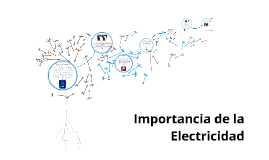 Importancia de la Electricidad