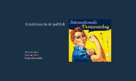 Copy of Feminisme in de politiek