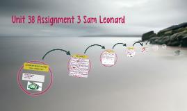Unit 38 Assignment 3 Sam Leonard
