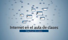 Internet en el aula de clases