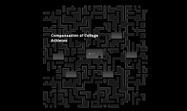 Compensation of College Sports Players