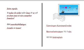 Svenska nu -presentation