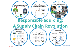 Responsible Sourcing: A Supply Chain Revolution