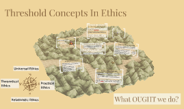 Threshold Concepts In Ethics