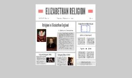 ELIZABETHAN RELIGION