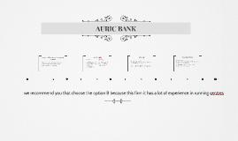 AURIC BANK