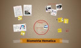 Biometria Hematica: Equipos Biomedicos