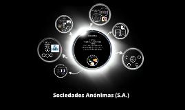 Copy of Copy of Sociedades Anónimas