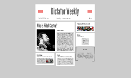 Dictator Weekly