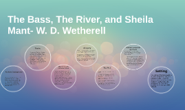 the bass the river and sheila mant essay After reading the bass, the river, and sheila mant, answer one of the following questions in a short paragraph support your thoughts with personal connections/life experiences with examples from the reading.