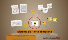 Copy of Sistema de alerta temprana (SisAT)
