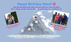 Happy Birthday, Mom!! <3