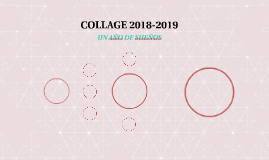COLLAGE 2018-2019