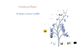 Copy of History of food
