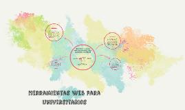 Herramientas Web para universitarios