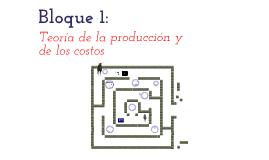 Teoría de la producción y costos