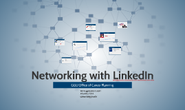 Webshop: Networking with LinkedIn