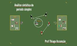 Análise sintática do período simples