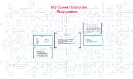 """My Career"" Prensentation"