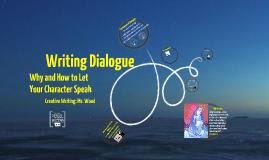 Copy of Writing Dialogue