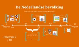 1HT H1 P6 De Nederlandse bevolking