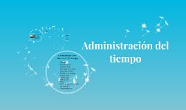 Módulo I. Administración del tiempo