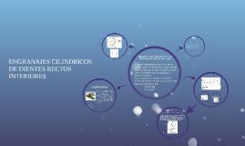 Copy of ENGRANAJES CILINDRICOS DE DIENTES RECTOS INTERIORES