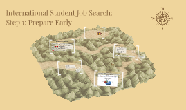 International Student Job Search: Step 1: Prepare Early