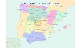 Copy of ITINERARIO DE LAZARILLO DE TORMES