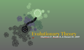 Evolutionary Theory Principles of Evolutionary Medicine