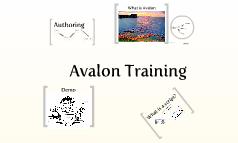 Avalon Training
