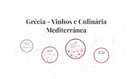 Grécia - Vinhos e Culinária Mediterrânea